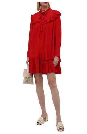 Женское платье VIVETTA красного цвета, арт. 21I V2M0/H021/5111 | Фото 2