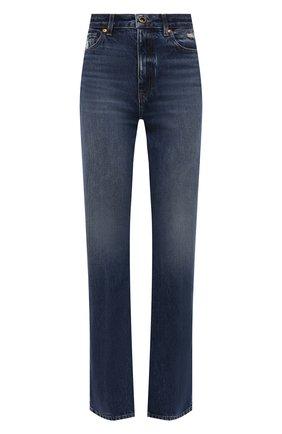 Женские джинсы KHAITE синего цвета, арт. 1032-060/DANIELLE   Фото 1