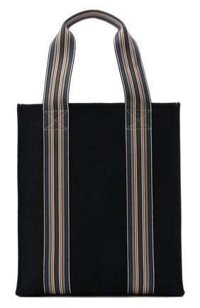 Женский сумка-шопер suitcase stripe LORO PIANA голубого цвета, арт. FAL4563   Фото 1 (Материал: Текстиль; Сумки-технические: Сумки-шопперы; Размер: large)