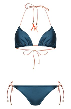 Женский раздельный купальник ZIMMERMANN синего цвета, арт. 1939WCAS   Фото 1