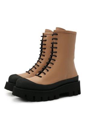 Женские кожаные ботинки chantal PALOMA BARCELO бежевого цвета, арт. CHANTAL NAPAS0FT | Фото 1