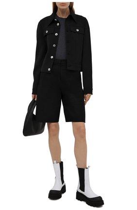 Женские кожаные ботинки charlotta PALOMA BARCELO белого цвета, арт. CHARL0TTA NAPAS0FT | Фото 2