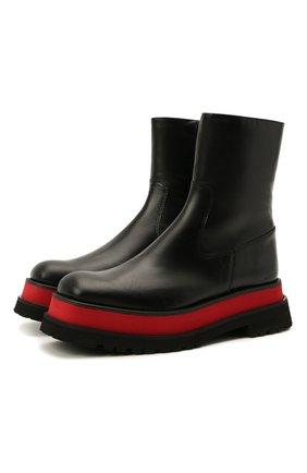 Женские кожаные ботинки cloe PALOMA BARCELO черного цвета, арт. CL0E TYS0N | Фото 1