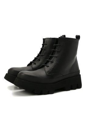 Женские кожаные ботинки hazel PALOMA BARCELO черного цвета, арт. HAZEL NAPAS0FT | Фото 1
