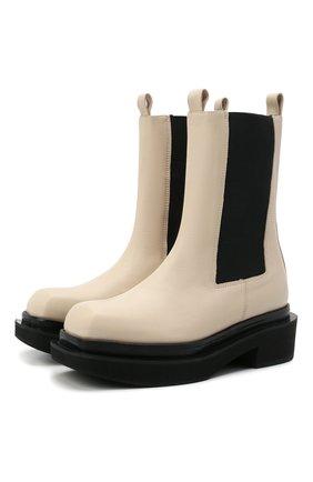 Женские кожаные ботинки ilsa PALOMA BARCELO белого цвета, арт. ILSA NAPAS0FT | Фото 1