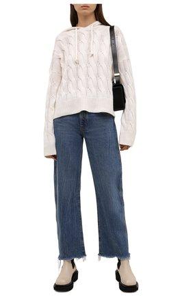Женские кожаные ботинки ilsa PALOMA BARCELO белого цвета, арт. ILSA NAPAS0FT | Фото 2