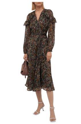 Женское платье из вискозы POLO RALPH LAUREN разноцветного цвета, арт. 211841929 | Фото 2 (Материал внешний: Вискоза; Рукава: Длинные; Материал подклада: Синтетический материал; Длина Ж (юбки, платья, шорты): Миди; Женское Кросс-КТ: Платье-одежда; Стили: Бохо; Случай: Повседневный)