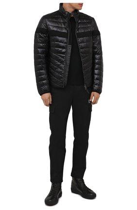 Мужская утепленная куртка BOGNER черного цвета, арт. 38426549 | Фото 2