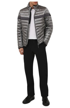 Мужская утепленная куртка BOGNER серого цвета, арт. 38426549 | Фото 2