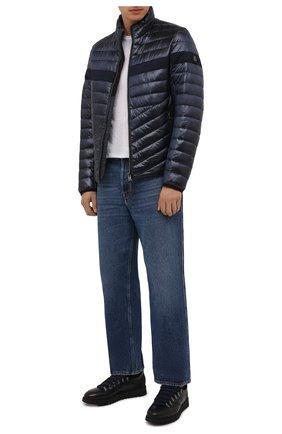 Мужская утепленная куртка BOGNER темно-синего цвета, арт. 38426549 | Фото 2