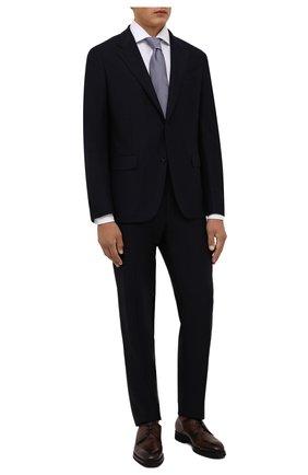 Мужские кожаные дерби BARRETT коричневого цвета, арт. 201U062.19/C0RSAR0 | Фото 2 (Материал внутренний: Натуральная кожа; Стили: Классический)