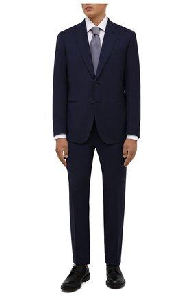 Мужские кожаные дерби BARRETT черного цвета, арт. 202U038.26/RIX0N | Фото 2 (Материал внутренний: Натуральная кожа; Стили: Классический; Мужское Кросс-КТ: Броги-обувь)