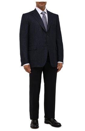 Мужской пиджак из шерсти кашемира CANALI темно-синего цвета, арт. 11280/CF01749   Фото 2
