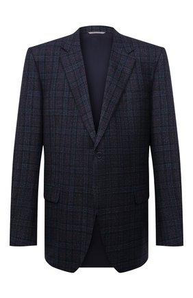 Мужской шерстяной пиджак CANALI темно-синего цвета, арт. 11280/CF00897   Фото 1