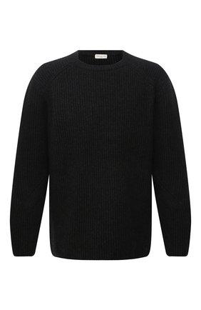Мужской шерстяной свитер DRIES VAN NOTEN темно-серого цвета, арт. 212-021238-3702 | Фото 1
