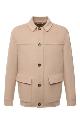 Мужская шерстяная куртка LORO PIANA бежевого цвета, арт. FAL6999 | Фото 1