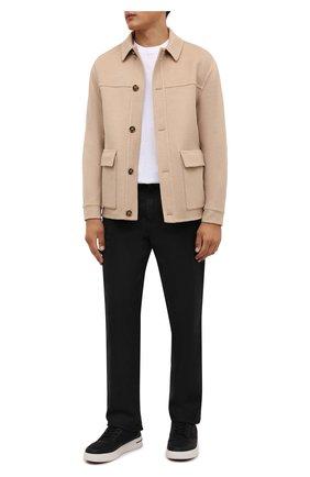 Мужская шерстяная куртка LORO PIANA бежевого цвета, арт. FAL6999 | Фото 2