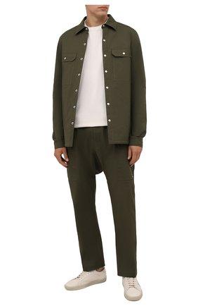 Хлопковая куртка-рубашка | Фото №2