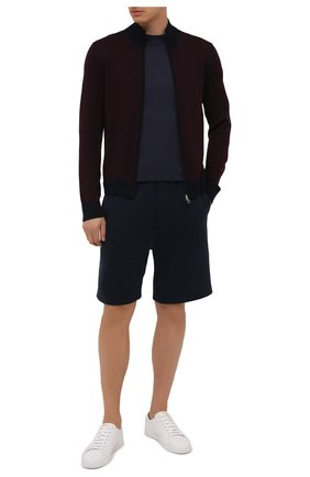 Мужской шерстяной кардиган GRAN SASSO бордового цвета, арт. 57114/14241 | Фото 2