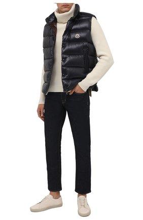 Мужской пуховый жилет tibb MONCLER темно-синего цвета, арт. G2-091-1A000-96-68950 | Фото 2