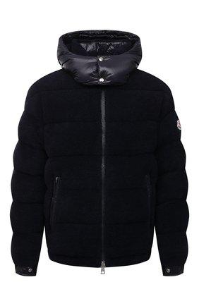Мужская пуховая куртка michon MONCLER темно-синего цвета, арт. G2-091-1A000-89-595EA | Фото 1