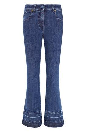Женские джинсы VERSACE синего цвета, арт. 1002130/1A01652   Фото 1