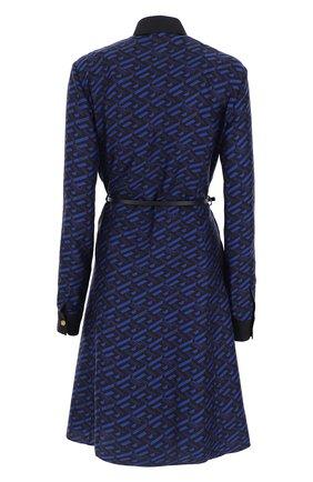 Женское платье VERSACE синего цвета, арт. 1002617/1A01805   Фото 2
