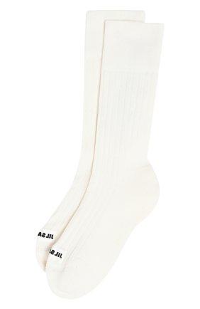Женские носки JIL SANDER белого цвета, арт. JPPT766020/WTY25158 | Фото 1