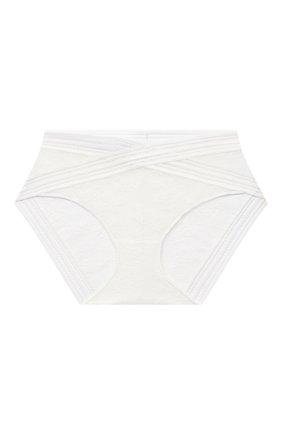 Женские трусы-слипы MAISON LEJABY белого цвета, арт. 16464 | Фото 1 (Материал внешний: Синтетический материал)