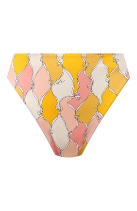 Женский плавки-бикини EMILIO PUCCI желтого цвета, арт. 1RMX65/1R777 | Фото 1