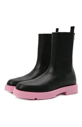 Женские кожаные ботинки show GIVENCHY черного цвета, арт. BE602VE12U | Фото 1