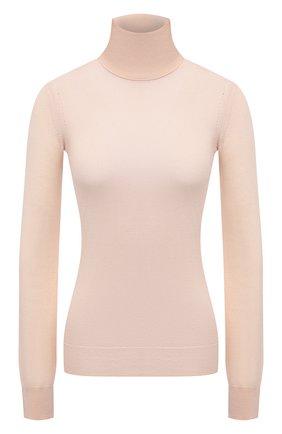 Женская кашемировая водолазка LORO PIANA розового цвета, арт. FAC4672 | Фото 1 (Материал внешний: Кашемир, Шерсть; Стили: Кэжуэл; Длина (для топов): Стандартные; Рукава: Длинные; Женское Кросс-КТ: Водолазка-одежда)