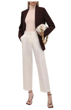Женская кашемировая водолазка LORO PIANA розового цвета, арт. FAC4672 | Фото 2 (Материал внешний: Кашемир, Шерсть; Стили: Кэжуэл; Длина (для топов): Стандартные; Рукава: Длинные; Женское Кросс-КТ: Водолазка-одежда)