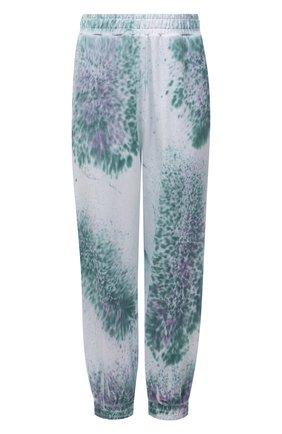 Женские хлопковые джоггеры MCQ разноцветного цвета, арт. 624628/RRJ53   Фото 1 (Материал внешний: Хлопок; Длина (брюки, джинсы): Стандартные; Стили: Спорт-шик; Кросс-КТ: Трикотаж; Женское Кросс-КТ: Джоггеры - брюки, Брюки-спорт; Силуэт Ж (брюки и джинсы): Джоггеры)