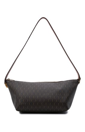 Женская сумка le monogramme SAINT LAURENT коричневого цвета, арт. 667490/2UY2W | Фото 1 (Материал: Экокожа; Размер: large)