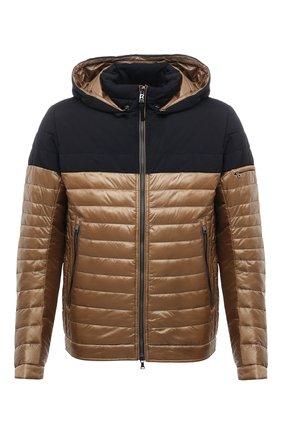 Мужская утепленная куртка BOGNER коричневого цвета, арт. 38006550 | Фото 1