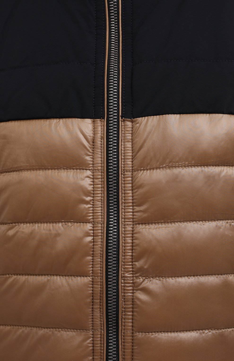 Мужская утепленная куртка BOGNER коричневого цвета, арт. 38006550 | Фото 5 (Кросс-КТ: Куртка; Мужское Кросс-КТ: пуховик-короткий; Рукава: Длинные; Материал внешний: Синтетический материал; Длина (верхняя одежда): Короткие; Стили: Кэжуэл)