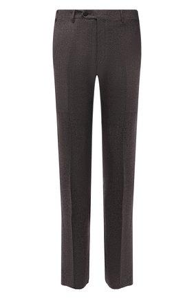 Мужские шерстяные брюки CORNELIANI коричневого цвета, арт. 885B01-1817226/02 | Фото 1