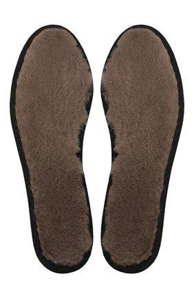 Мужские стельки BALLY коричневого цвета, арт. S-LMBS-LEINS-RE-01/00 | Фото 1 (Материал внешний: Натуральный мех)