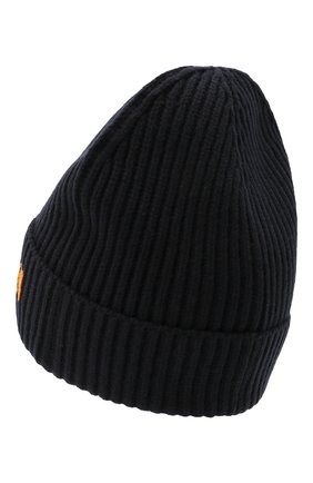 Мужская шерстяная шапка KENZO темно-синего цвета, арт. FB68BU131KFB | Фото 2