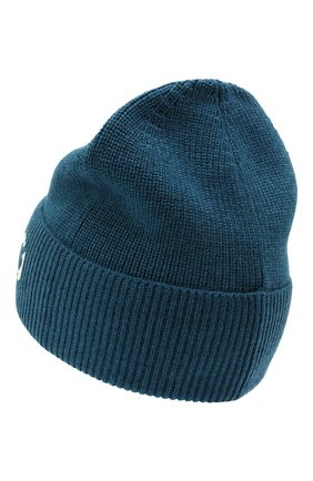 Мужская шерстяная шапка KENZO синего цвета, арт. FA68BU111KEK | Фото 2