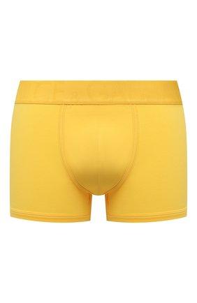 Мужские хлопковые боксеры DOLCE & GABBANA желтого цвета, арт. M4D04J/0UAIG | Фото 1 (Материал внешний: Хлопок; Мужское Кросс-КТ: Трусы; Кросс-КТ: бельё)