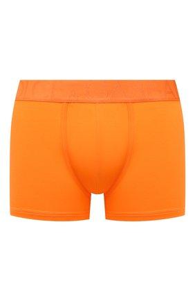 Мужские хлопковые боксеры DOLCE & GABBANA оранжевого цвета, арт. M4D04J/0UAIG | Фото 1 (Материал внешний: Хлопок; Мужское Кросс-КТ: Трусы; Кросс-КТ: бельё)