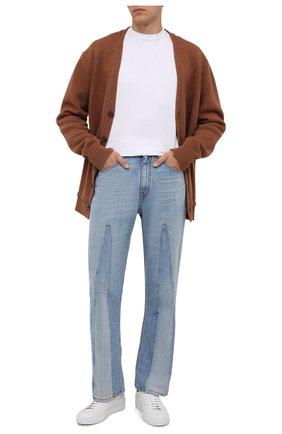 Мужские джинсы MARNI голубого цвета, арт. PUJU0046A5/UTC047 | Фото 2