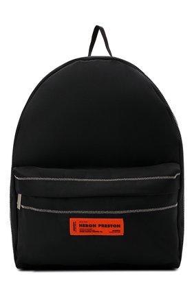 Мужской текстильный рюкзак HERON PRESTON черного цвета, арт. HMNB015F21FAB0011010   Фото 1