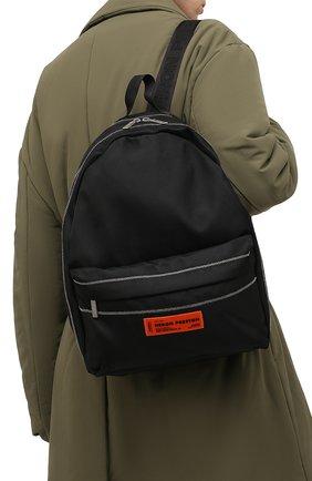 Мужской текстильный рюкзак HERON PRESTON черного цвета, арт. HMNB015F21FAB0011010   Фото 2