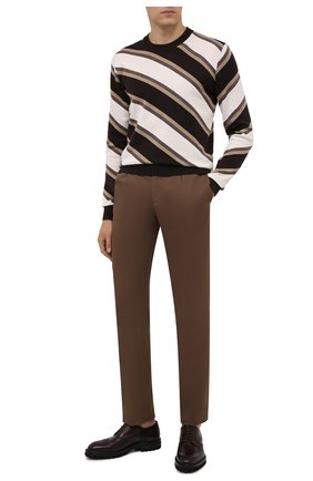 Мужские кожаные дерби W.GIBBS темно-коричневого цвета, арт. 7260001/2197 | Фото 2