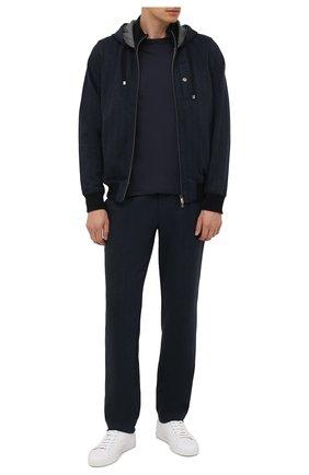 Мужской спортивный костюм CAPOBIANCO темно-синего цвета, арт. 11MT04.SP00. | Фото 1