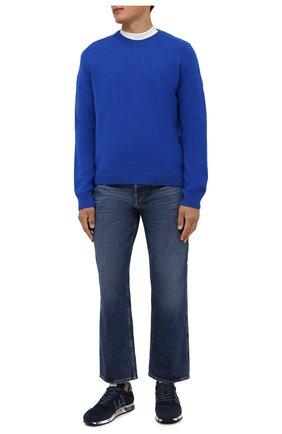 Мужские замшевые кроссовки eric PREMIATA синего цвета, арт. ERIC/VAR5373 | Фото 2 (Подошва: Массивная; Материал внутренний: Натуральная кожа; Материал внешний: Замша; Стили: Гранж)