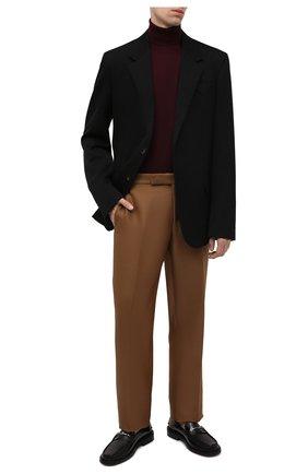 Мужской шерстяная водолазка POLO RALPH LAUREN бордового цвета, арт. 710771090   Фото 2 (Материал внешний: Шерсть; Мужское Кросс-КТ: Водолазка-одежда; Принт: Без принта; Стили: Кэжуэл; Длина (для топов): Стандартные; Рукава: Длинные)